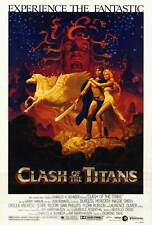 "CLASH OF THE TITANS Movie Poster [Licensed-NEW-USA] 27x40"" Theater Size 1981"