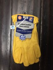 West Chester Protective Gear Grain Cowhide Leather Work Glove Size Small