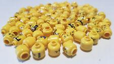 Lego 20 x Minifig Head Kopf Gemischt Zufall