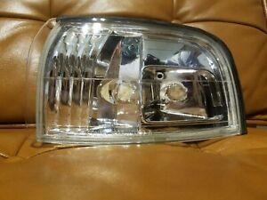 LEFT New Corner Light Lamp Clear amber lens DRIVER Side For Honda 90