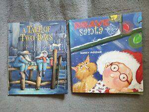 """2 englische Kinder/Bilderbücher """"Brave Santa"""" + """"A Tale of Two Rats"""""""