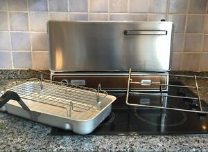 Grill Gas Folding Wall Mount- Highly Sought Aga Cooker Owners