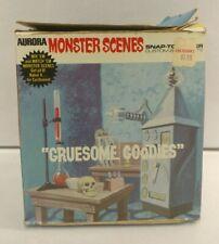 1971 Aurora Monster Scenes Gruesome Goodies #634-200 Model Kit Rare COMPLETE