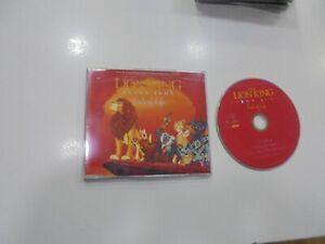 The Lion King CD Single U.K.Circle of Life 1994 Elton John, Disney New