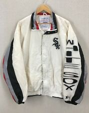Vintage 90's Chicago White Sox Starter Dugout Jacket Size Large