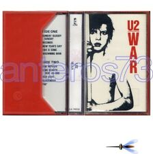 "U2 ""WAR"" RARE K7 1st PRESS MADE IN ITALY - SEALED"