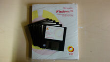 Microsoft Windows 3.1 Operating System Install Floppies + Manual (OEM) Untested