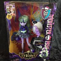 Monster High 13 Wishes TWYLA & DUSTIN BUNNY Daughter Of The Boogey Man Doll 2012