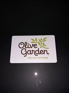 OLIVE GARDEN GIFT CARD $20 VALUE