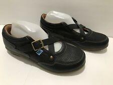 John Fluevog Earth Angels Sneakers Leather Black Men's 8.5 Women's 10.5