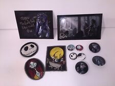 Disneyland Corpse Bride Pins Patches Stickers Lot Disney Nightmare Before Xmas