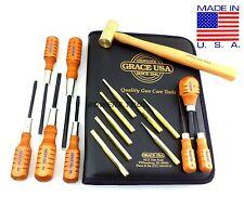 Grace 17pc Gunsmith Set Screwdrivers Brass Punches & Hammer Gun Care GCT-17 USA