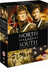 NORTH AND SOUTH COMPLETE COLLECTION BOOK 1+2+3 DVD REGION 4  PATRICK SWAYZE