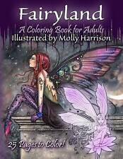 Fairyland - Coloring Book for Adults Fantasy Coloring for Grow by Harrison Molly
