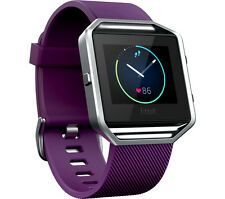 FITBIT Blaze Sports watch Plum for Health tracking, Water resistant Large Size