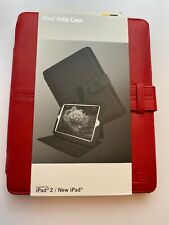 Case Logic Durable Folio Case For iPad 2, iPad 3, iPad 4 - Integrated Stand, Red