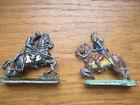 2 PETITS SOLDATS DE PLOMB ANCIENS :Figurines plates époque 1er empire.