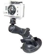 RAM Windshield Dash Suction Cup Composite Mount with Custom GoPro Hero Adapter