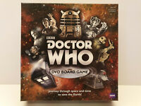 Doctor Who DVD Board Game Orginal BBC 50 Year Anniversary Family Team Fun