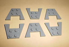 Lego (4859) 6 placas alas 3x4, en Alt gris claro de 7317 6940 5987 6456 6923