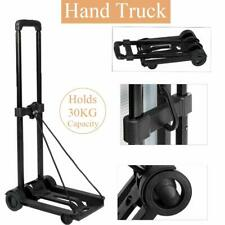 Folding Push Hand Truck Trolley Luggage Dolly Cart Lightweight for Moving Travel
