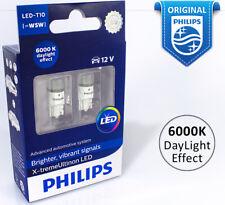 Philips W5W T10 Xtreme Ultinon LED 6000K 360° Car 12V Crystal White 127996000KX2