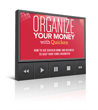 Organize Your Money with Quicken- Videos on CD
