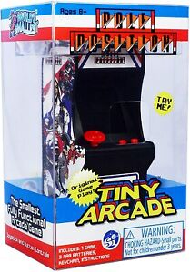 Tiny Arcade Pole Position Brand New Sealed In Pack Smallest Coolest Keychain