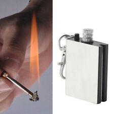 UK STOCK MATCHBOX FLINT CAMPING LIGHTER SURVIVAL EMERGENCY FIRE STARTER GADGET