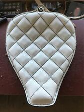 On The Frame Motorcycle Seat Sportster 2010-16 Yr Leather Rich Phillips Leather