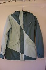 Special Blend Siryn Insulated Womens Snowboard/Ski Jacket, XS, Blue/Blue Gray