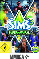 Die Sims 3 - Supernatural Addon Key / EA/ORIGIN DLC Download Code [PC][EU][NEU]