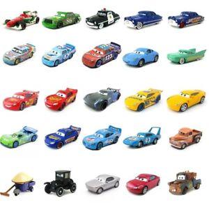 Disney Pixar Cars 1:55 Diecast Micro Racers Vehicle Models Disney Pixar Cars Toy