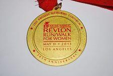 Revlon 2013 Run-Walk For Women Los Angeles 20Th Anniversary Medal and Ribbon