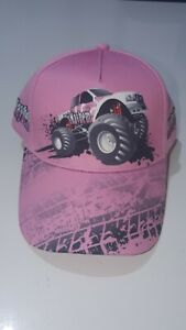 MONSTER TRUCKS AUSTRALIA CAP, MISMAYHEM HAT, PINK, ONE SIZE, NEW WITHOUT TAGS