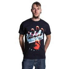 Mens Judas Priest British Steel Band Album T-Shirt - Unisex Rock Music Tee