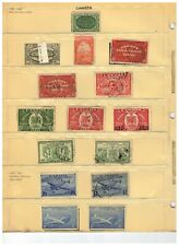 CANADA  1898++ SET (-1) of SPECIAL DELIVERY & AIR  cat #E1 $110.00++ LOT 01a