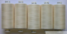 5 X Reels Wine Moon Polyester Sewing Thread Cotton 120s ( 18 )