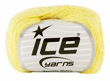 Sparkle Nylon Hilo por hielo Hilos. Amarillo. Hilo No. 9120. 50 gramos de bola.