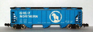 N Scale – Great Northern – Covered Hopper - #71084 - N Gauge - Bachmann