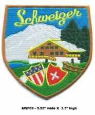 RARE SCHWEIZER HELICOPTER PATCH - AWF09