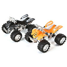 1X  Pull Back Car Beach Four-wheel Motorcycle Model Baby Kids Children Toys WD