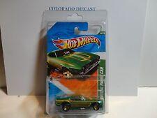 2011 Hot Wheels Super Treasure Hunt #60 Green '71 Mustang Funny Car