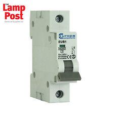 Europa Reja de desminado 20A 20AMP EUB1 B20 SP Reja de desminado Miniatura Interruptor de circuito