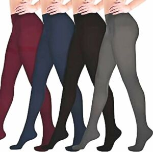 NEW LOOK COLOUR OR BLACK OPAQUE STRETCH TIGHTS L-XL/ TALL (S-L SEPARATE LISTING)