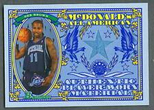 Dee Brown 2006-07 Bowman McDonald's All American Jersey