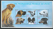 DOGS - THE WORLD OF PETS   - PALAU - SHEET - MNH - ** - postfris