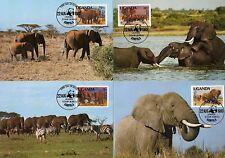 Uganda  361 - 64 auf MK (20859-o1 )