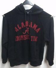 "Men's Large J.America ""Alabama Crimson Tide"" Black Pullover Hoodie, Thick"