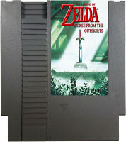 The Legend of Zelda: Curse From the Outskirts NES Nintendo Hack Tested!